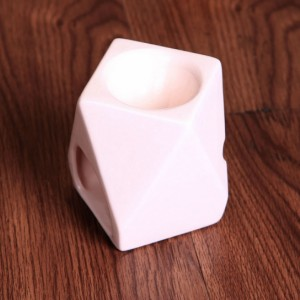 اسانس سوز سفید طرح مدرن چندضلعی (کدa25)