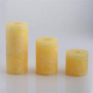 خرسد شمع رنگ زرد