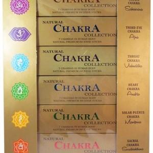 عود دست ساز هفت چاکرا Natural Chakra Collection