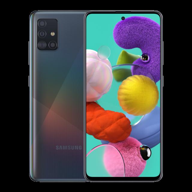 گوشی موبایل سامسونگ مدل Galaxy A51 SM-A515F/DSN دو سیم کارت ظرفیت 128گیگابایت رم 6 گیگابایت