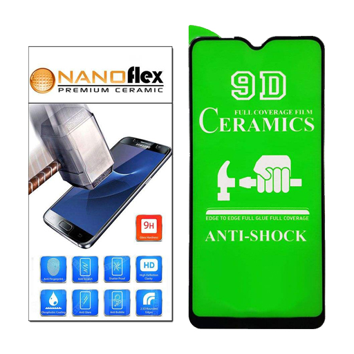 محافظ صفحه نمایش مدل سرامیکی مناسب برای گوشی موبایل شیائومی Redmi Note 7/Note 7 Pro
