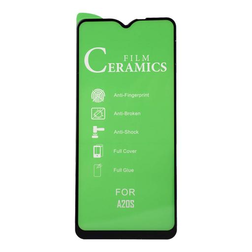 محافظ صفحه نمایش مدل سرامیکی مناسب برای گوشی موبایل سامسونگ Galaxy A20s