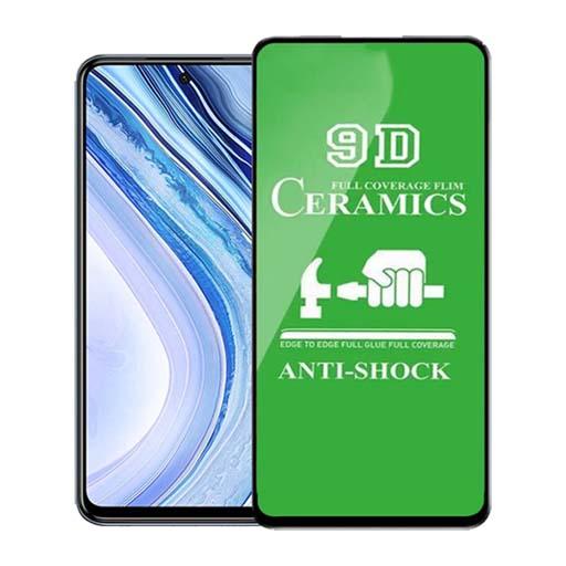 محافظ صفحه نمایش مدل سرامیکی مناسب برای گوشی موبایل شیائومی Redmi Note 9s/ Note 9 Pro