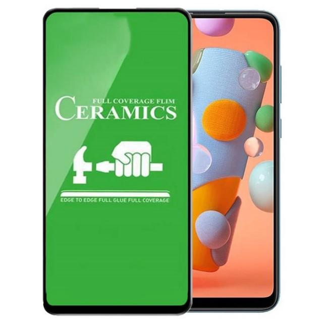 محافظ صفحه نمایش مدل سرامیکی مناسب برای گوشی موبایل سامسونگ Galaxy A11