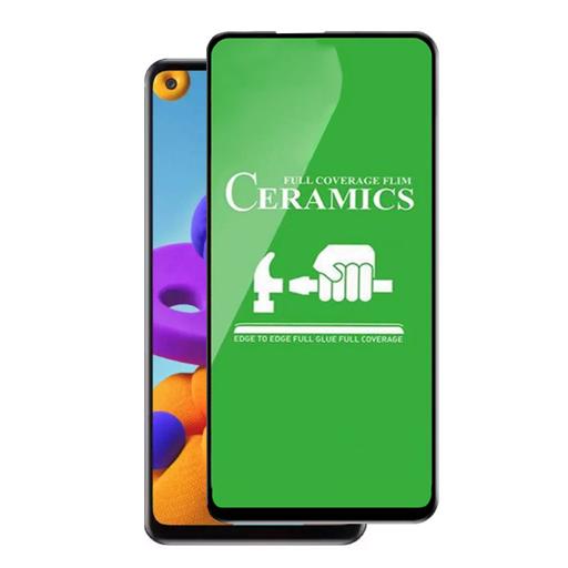 محافظ صفحه نمایش مدل سرامیکی مناسب برای گوشی موبایل سامسونگ Galaxy A21s