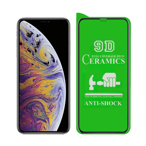 محافظ صفحه نمایش مدل سرامیکی مناسب برای گوشی موبایل آیفون XS Max