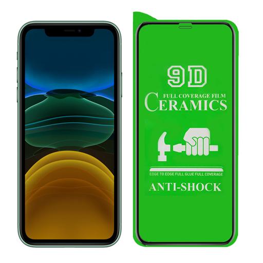 محافظ صفحه نمایش مدل سرامیکی مناسب برای گوشی موبایل آیفون XR / 11