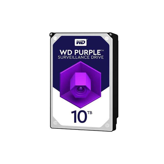 هارد اینترنال WD مدل Purple WD102PURZ ظرفیت ۱۰TB گارانتی اصلی آواژنگ
