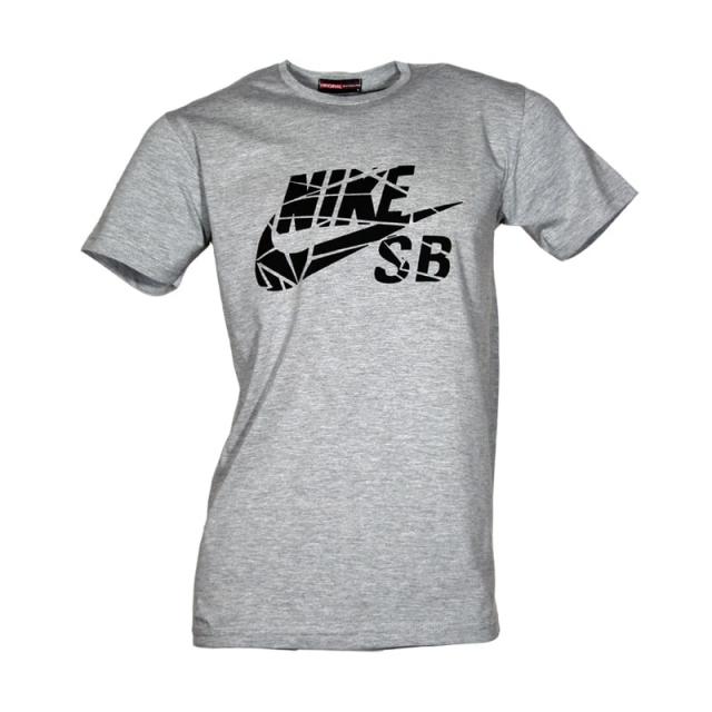 تی شرت ورزشی مردانه یقه گرد نایک کد AT102