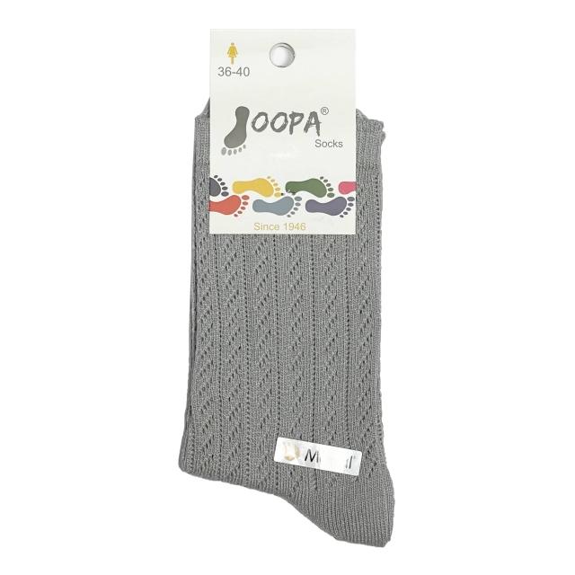 جوراب زنانه نیم ساق قلاب بافی کد 285