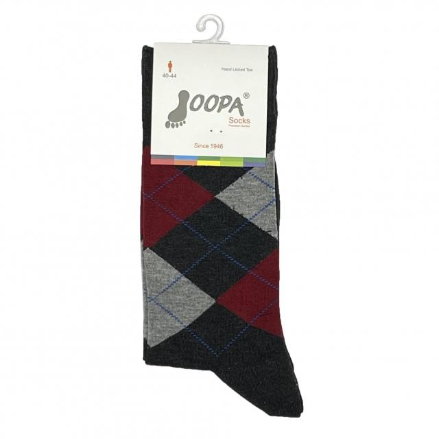 جوراب مردانه جوپا طرح اسکاچ کد 033