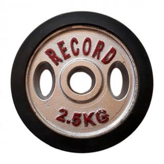 وزنه هالتر دور لاستیک 2.5 کیلویی - دو عددی