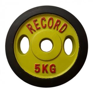 وزنه هالتر دور لاستیک 5 کیلویی - دو عددی