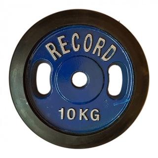 وزنه هالتر  دور لاستیک 10 کیلویی - دو عددی