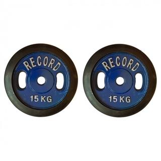 وزنه هالتر دور لاستیک 15 کیلویی - دو عددی