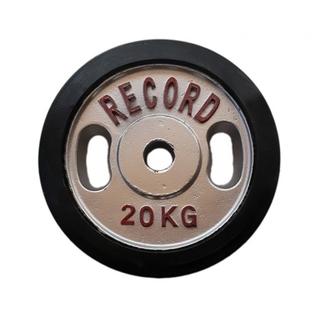 وزنه هالتر دور لاستیک 20 کیلویی - دو عددی