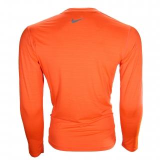 تی شرت ورزشی آستین بلند مردانه یقه گرد نایک  کد E5810