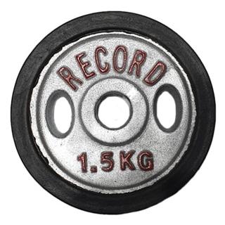وزنه دمبلی دور لاستیک 1.5 کیلویی - دو عددی