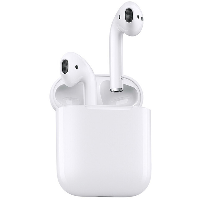هدفون بی سیم اپل مدل  AirPods2 .
