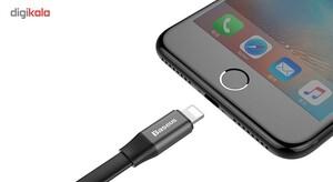 کابل USB به لایتنینگ باسئوس مدل Nimble طول 23 سانتی متر