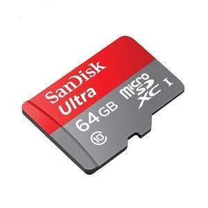 کارت حافظه microSDXC سن دیسک مدل Ultra A1 کلاس 10 استاندارد UHS-I سرعت 120MBps ظرفیت 64 گیگابایت
