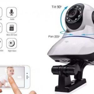 دوربین مداربسته و امنیتی تحت شبکه بیسیم و تعقیب سوژه iCam (آی کم)