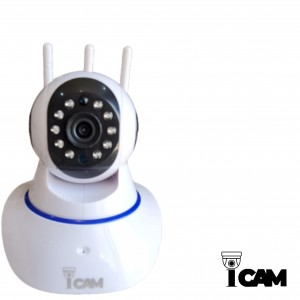 دوربین مداربسته تحت شبکه بیسیم و تعقیب سوژه iCam