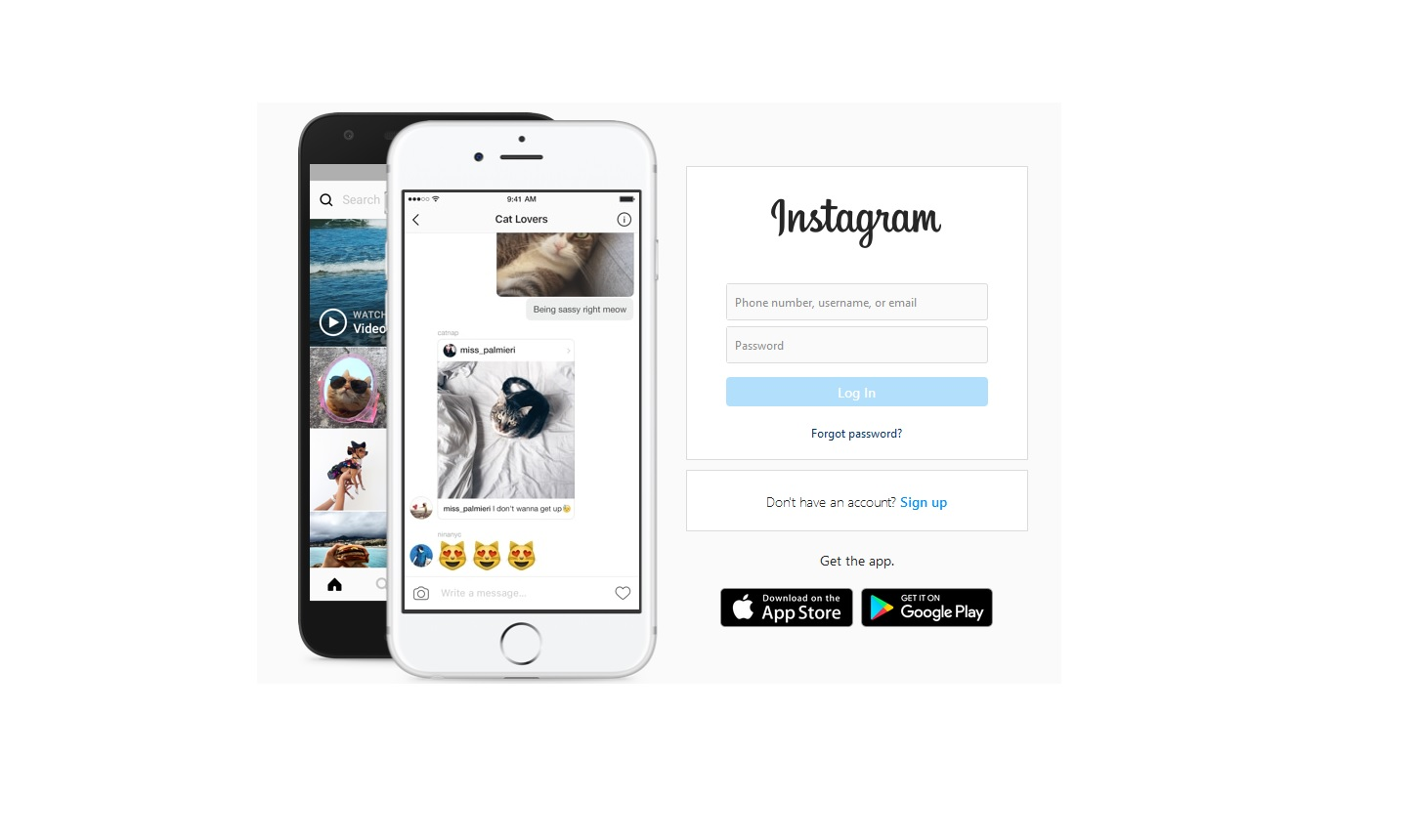 how can send post on instagram by chrom
