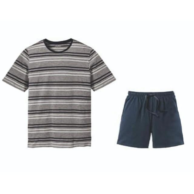 ست تی شرت و شلوارک مردانه لیورجی مدل 422