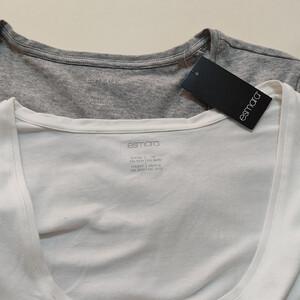 تی شرت آستین بلند زنانه اسمارا مدل AM222 مجموعه دو عددی