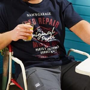 تیشرت آستین کوتاه مردانه لیورجی مدل B0021589