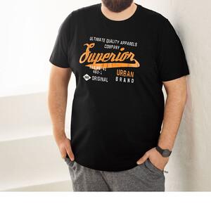 تیشرت آستین کوتاه مردانه لیورجی مدل 100256 رنگ مشکی